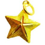 จี้ ทองคำแท้ รูปดาว น้ำหนักทอง 1 กรัม