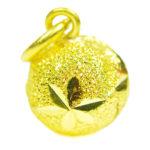 จี้ ทองคำแท้ รูปถุงทองตัดลาย น้ำหนักทอง 1 สลึง